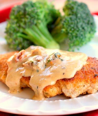 Chicken-with-Creamy-Herb