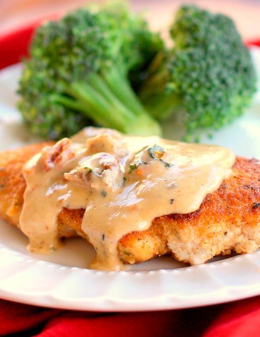 Chicken with Creamy Herb